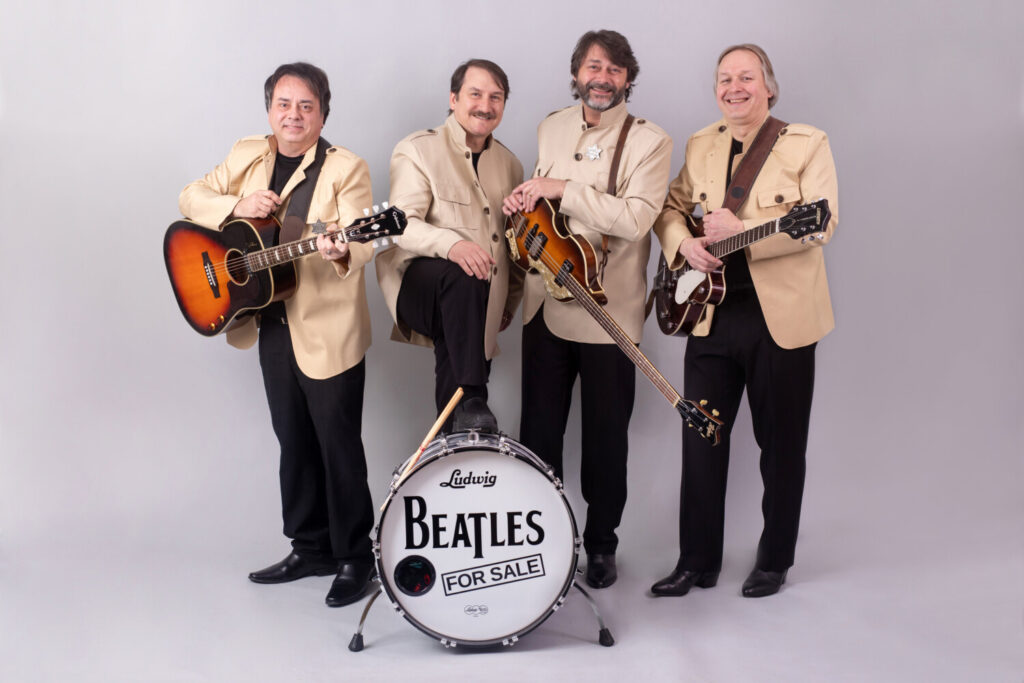Beatles For Sale will perform at 7:30 p.m. Friday, Nov. 1, at the Orion Performing Arts Center, at Mt. Ararat Middle School, 66 Republic Ave. in Topsham.