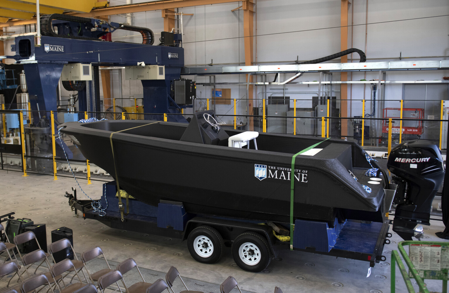 UMaine just made the world's largest 3-D printed object: a boat - CentralMaine.com