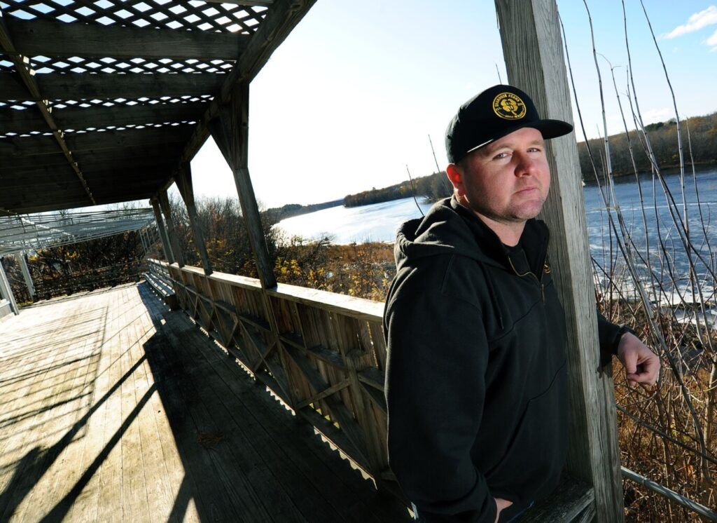 Chris Duffy and others have purchased the former Lobster Trap restaurant at 21 Bay St. in Winslow. The business is being renamed the Brickhouse Cannabis Co. and will offer a waterfront CBD cafe on the deck that overlooks the Kennebec River.