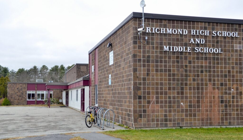 Richmond Middle and High School, in a photo taken Wednesday.