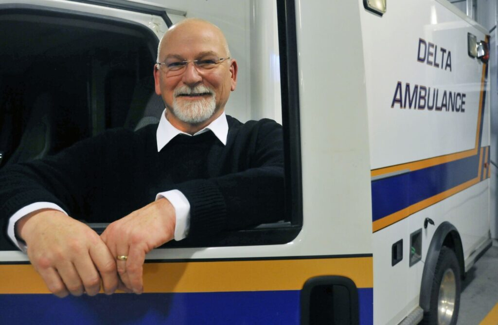 Tim Beals, executive director of Delta Ambulance, has proposed a plan he believes will address issues raised about ambulance service and provide revenue to Waterville Fire.