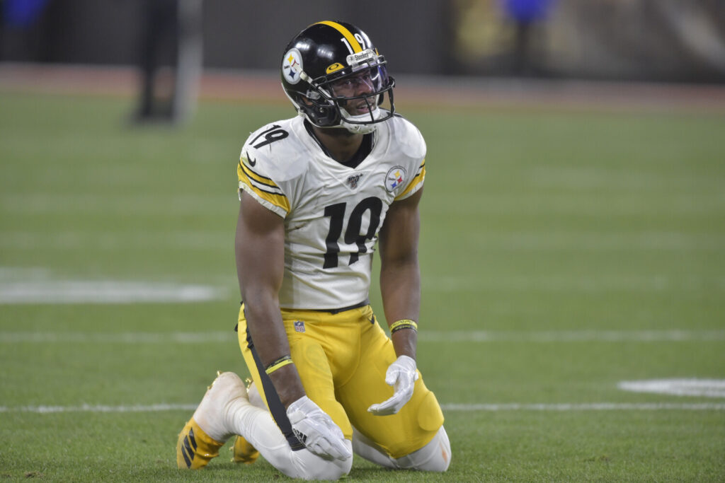 Pittsburgh Steelers wide receiver JuJu Smith-Schuster is injured and will not play Sunday against Cincinnati.