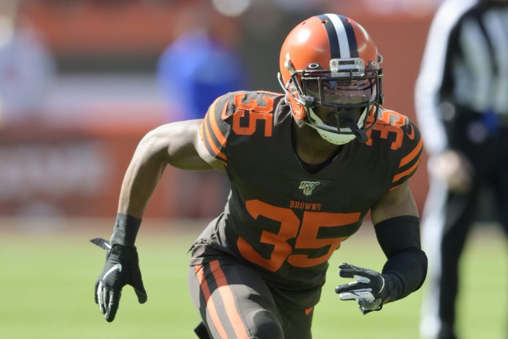 Cleveland Browns defensive back Jermaine Whitehead was released following his disturbing social media rant after a loss in Denver.