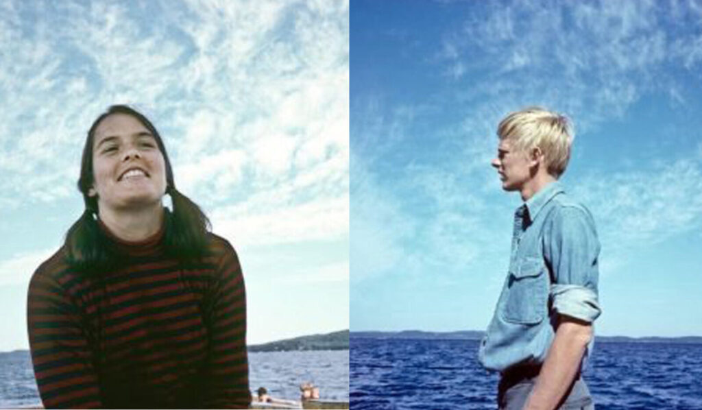 Undated photos of Susan and Carl Chase show them in their teenage years.