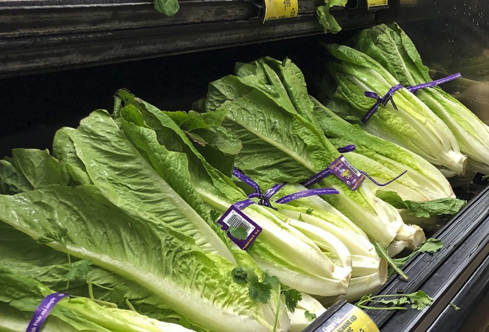 The U.S. Centers for Disease Control and Prevention warned consumers on Friday not to eat Romaine lettuce grown in Simi Valley, Calif. They also say not to eat the leafy green if the label doesn't say where it was grown.