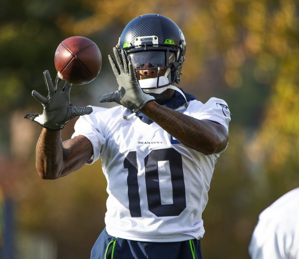 Seahawks receiver Josh Gordon, who started the season with the Patriots, was suspended on Monday, the eighth time in his career he has been suspended.
