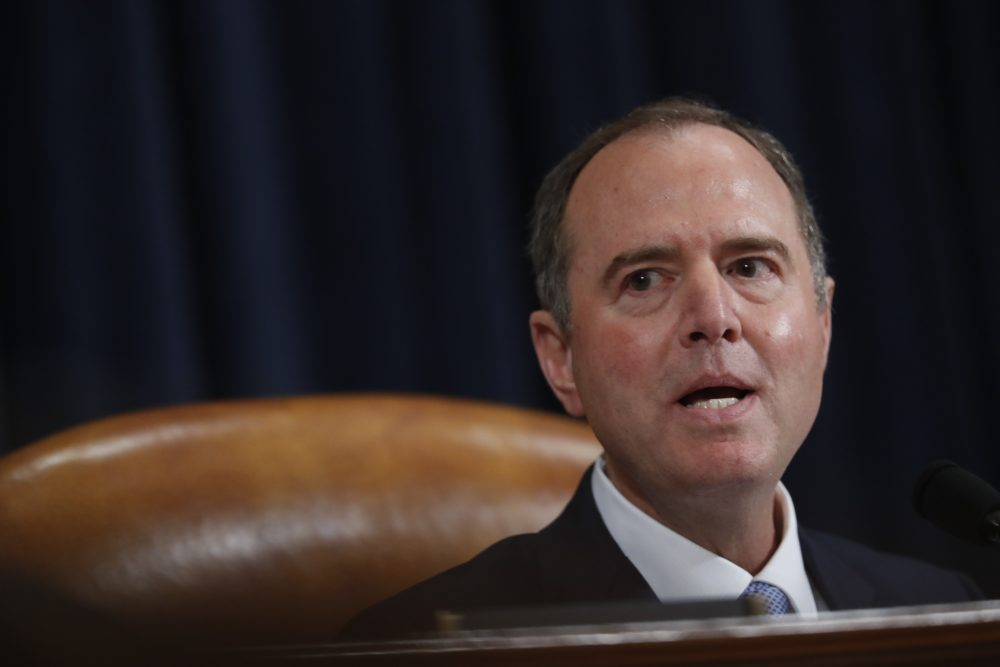 House Intelligence Committee Chairman Adam Schiff, D-Calif., said Monday that the House impeachment report would be sent to the Judiciary Committee shortly after Congress reconvenes after the Thanksgiving recess.