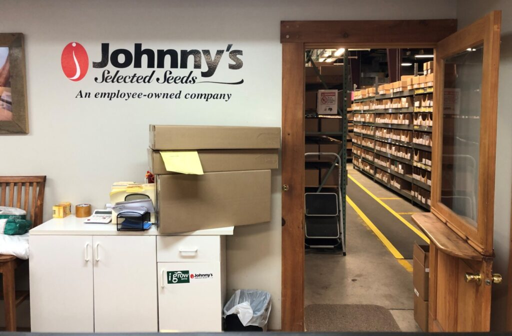 On Tuesday, Johnny's Selected Seeds closed on a $1.65 million purchase of property it has occupied since 2002 in a town-owned building on Benton Avenue in Winslow.