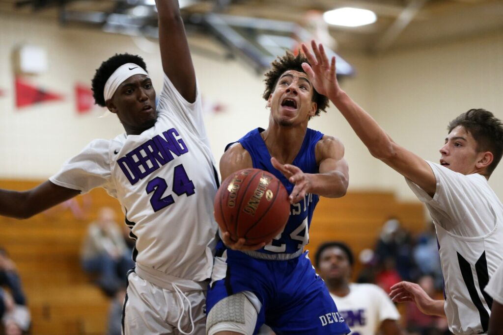 Boys Basketball Deering Too Much For Lewiston Lewiston