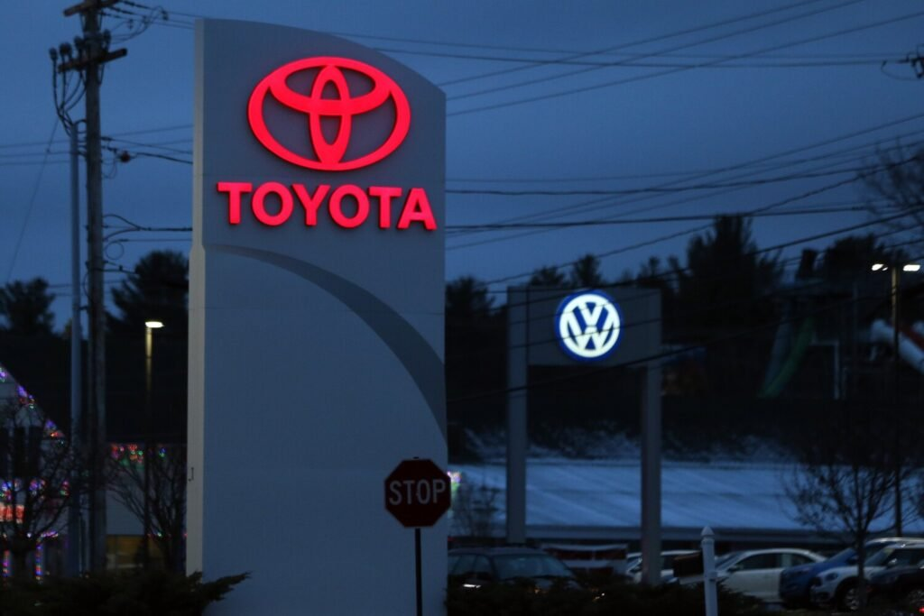 Toyota and Volkswagen are threatening to revoke their respective franchise agreements with two Prime Motor Group dealerships in Saco because of alleged breaches of contract stemming from the ouster of former Prime Motor CEO David Rosenberg.