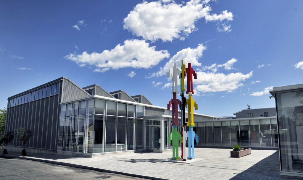 The Center for Maine Contemporary Art moved to Rockland in 2016.