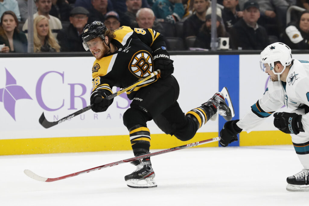 David Pastrnak made an impression at the All-Star game last season and is one of the league's best goal scorers this season.