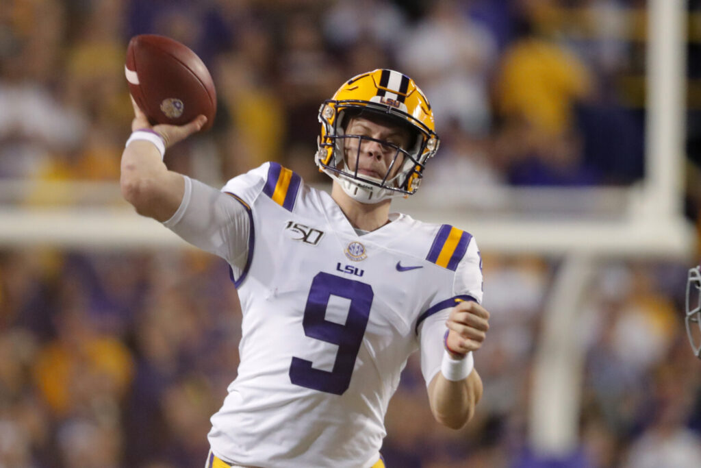 LSU quarterback Joe Burrow became the first player in 60 years from the school to win the Heisman Trophy on Saturday.