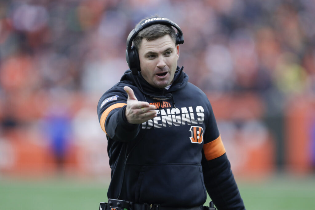 Zac Taylor was the quarterbacks coach for the Rams when they lost to the Patriots in the Super Bowl last season. He will face New England again as the head coach of the 1-12 Cincinnati Bengals.
