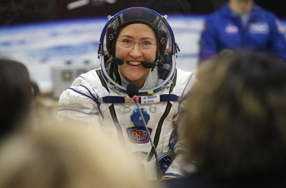 Telling Numbers: Longest single spacewalk by a woman, and other records