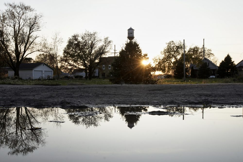 It took only minutes for swift-moving floods from the Elkhorn River to ravage Winslow, Neb., this spring, leaving nearly all its 48 homes and businesses uninhabitable.