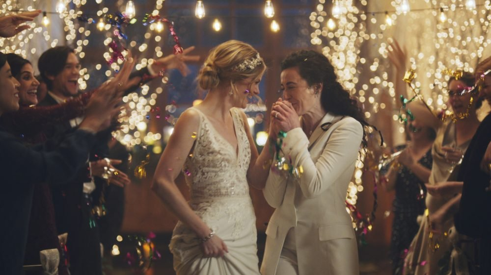 Under pressure from a conservative advocacy group, The Hallmark Channel has pulled the ads for wedding-planning website Zola that featured same-sex couples, including two brides kissing. The family-friendly network, which is in the midst of its heavily watched holiday programming, removed the ads because the controversy was a distraction, a spokesperson said in an interview on Saturday.