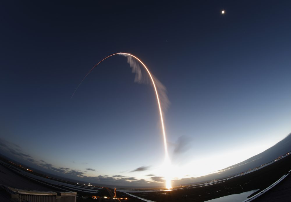 The United Launch Alliance Atlas V rocket carrying the Boeing Starliner crew capsule lifts off on an orbital flight test to the International Space Station from Space Launch Complex 41 at Cape Canaveral Air Force Station on Friday.