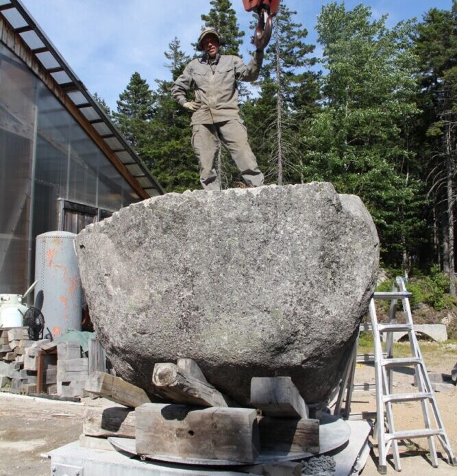 Large-scale stone sculpture installation planned for Eastern Prom - CentralMaine.com