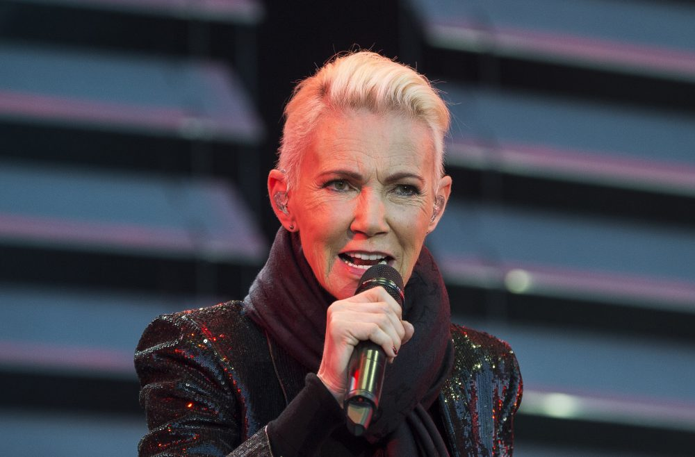 Marie Fredriksson, singer of the pop duo Roxette performs in 2015. Fredriksson has died at age 61 after a long illness.
