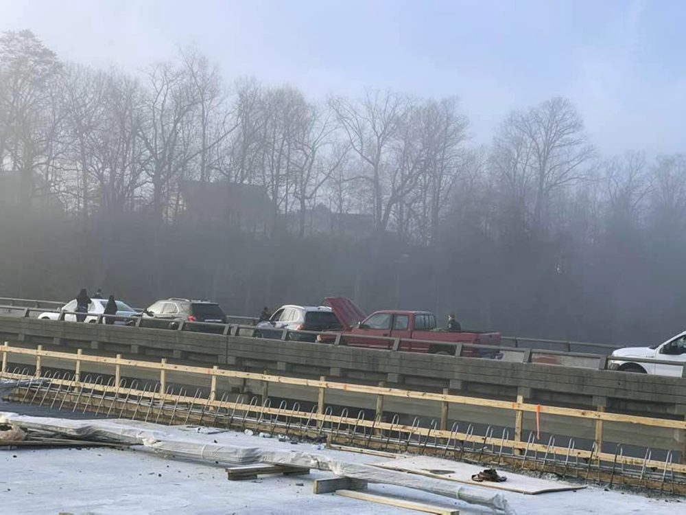 Injuries reported following huge 63-vehicle pileup on I-64 in Virginia