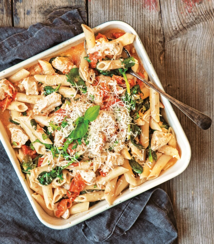 """Chicken Florentine from """"The Big Book of Instant Pot Recipes."""""""