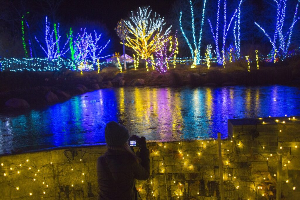 Coastal Maine Botanical Gardens will hold its annual Gardens Aglow through Dec. 31.