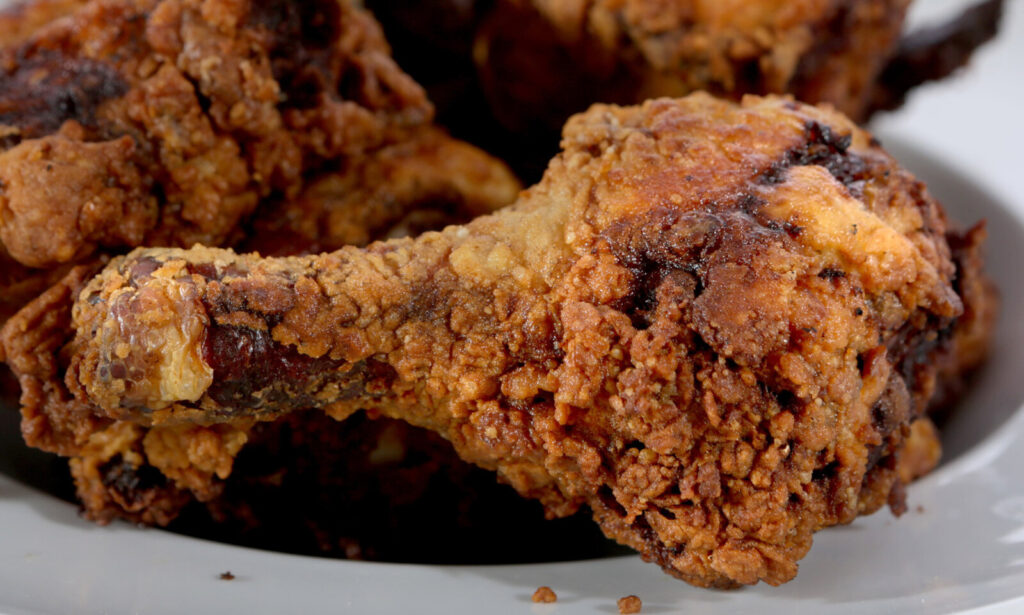 Fried chicken. It doesn't get much more southern than this.
