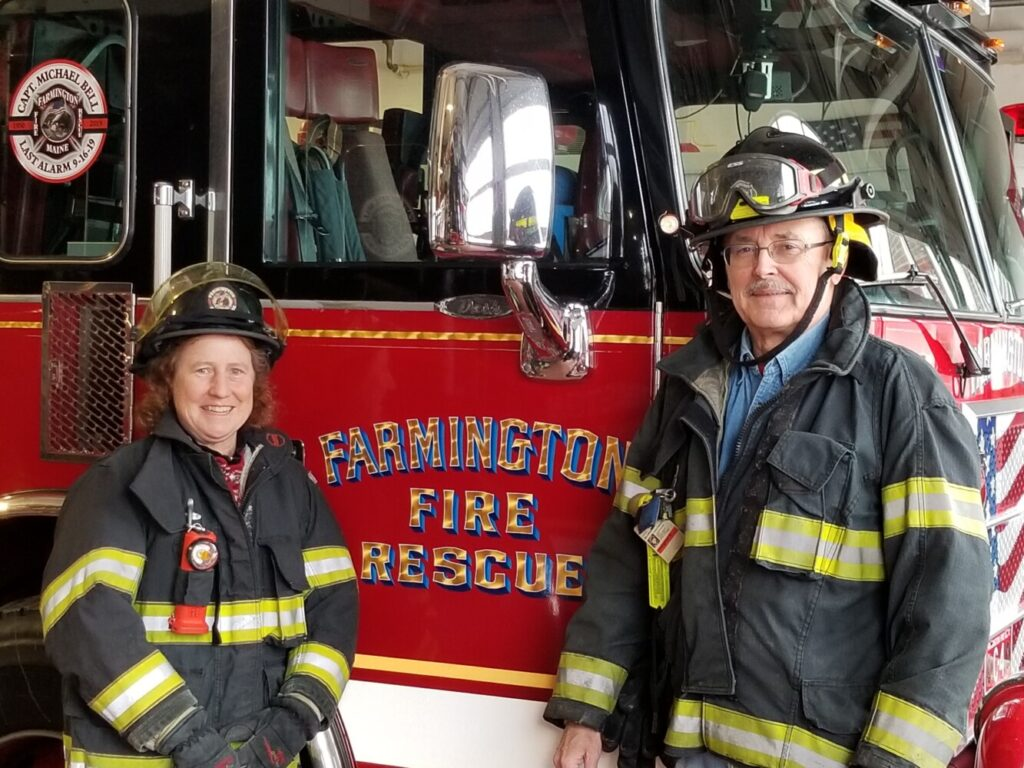 Patty Cormier will ride on the Odd Fellows' float honoring America's first responders in the Rose Parade, while Stephan Bunker will be watching from a grandstand.