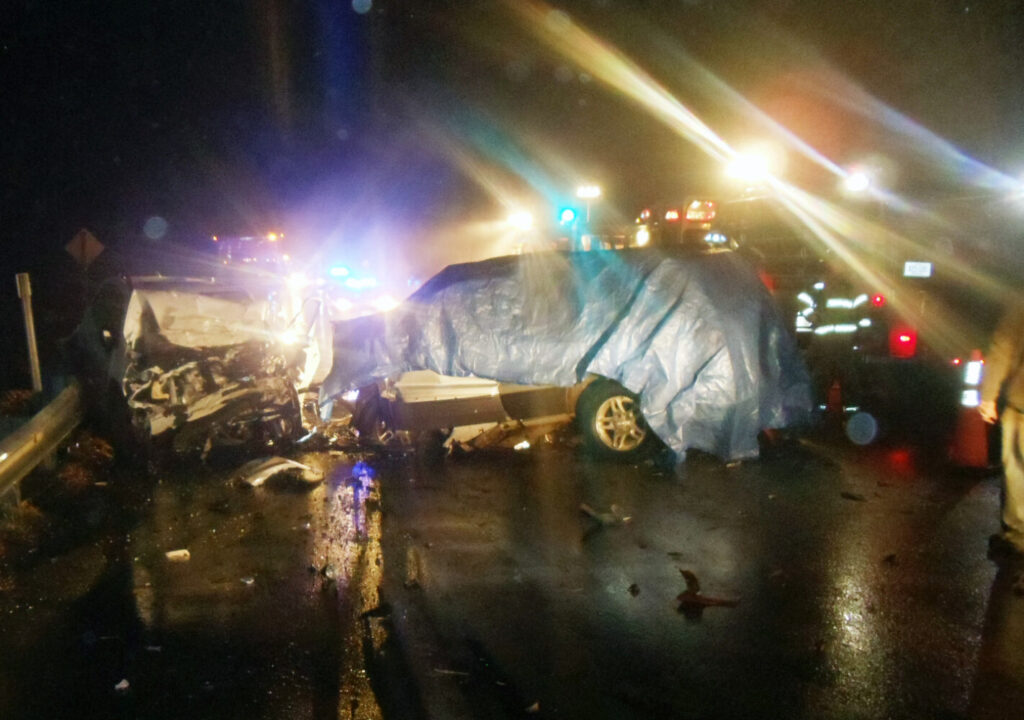 The drivers of two vehicles that collided head-on Friday night on Route 201 in Vassalboro near the Fire Department died. One was pronounced dead at the scene and the other succumbed to injuries later at MaineGeneral Medical Center in Augusta.