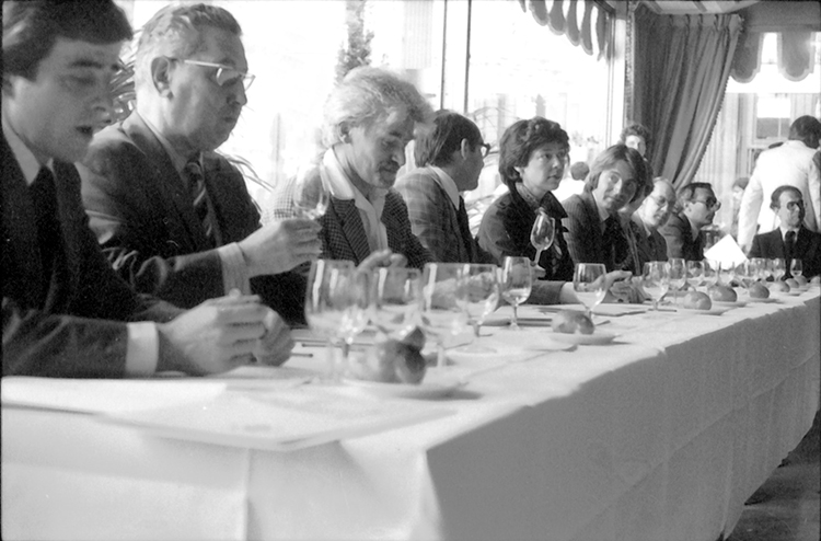 The 1976 tasting that became known as the Judgment of Paris, where French judges rated the Stag's Leap Wine Cellars 1973 Cabernet Sauvignon and the Chateau Montelena 1973 Chardonnay over top French wines.