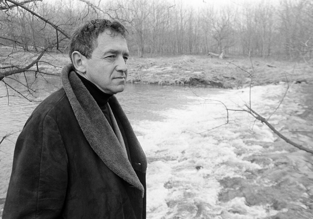 Andrew Wyeth photographed in 1964.