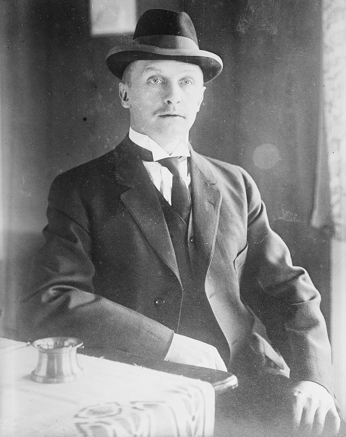 Werner Horn photographed between 1910 and 1915