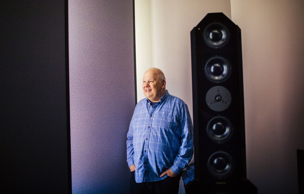 Mastering engineer Bob Ludwig photographed in February 2016.