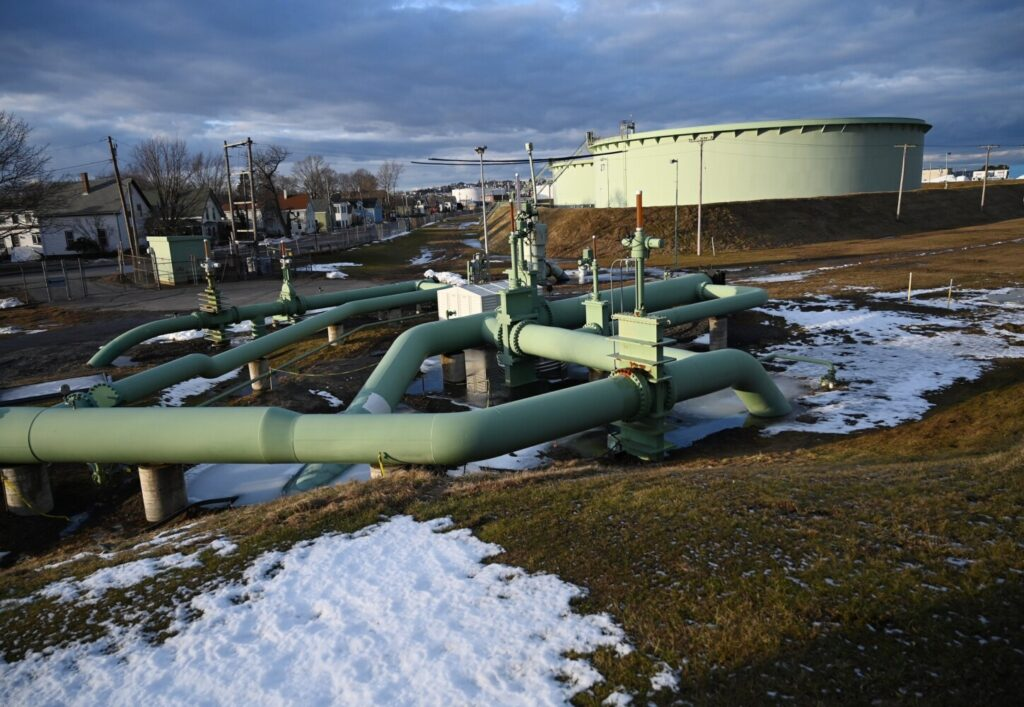 Maine's supreme court sides with South Portland in a nearly 5-year-old court battle between the city and Portland Pipe Line Corp. The U.S. Circuit Court of Appeals in Boston must sill rule on the constitutionality of a city ordinance restricting use of the pipeline for exporting oil from Canada.