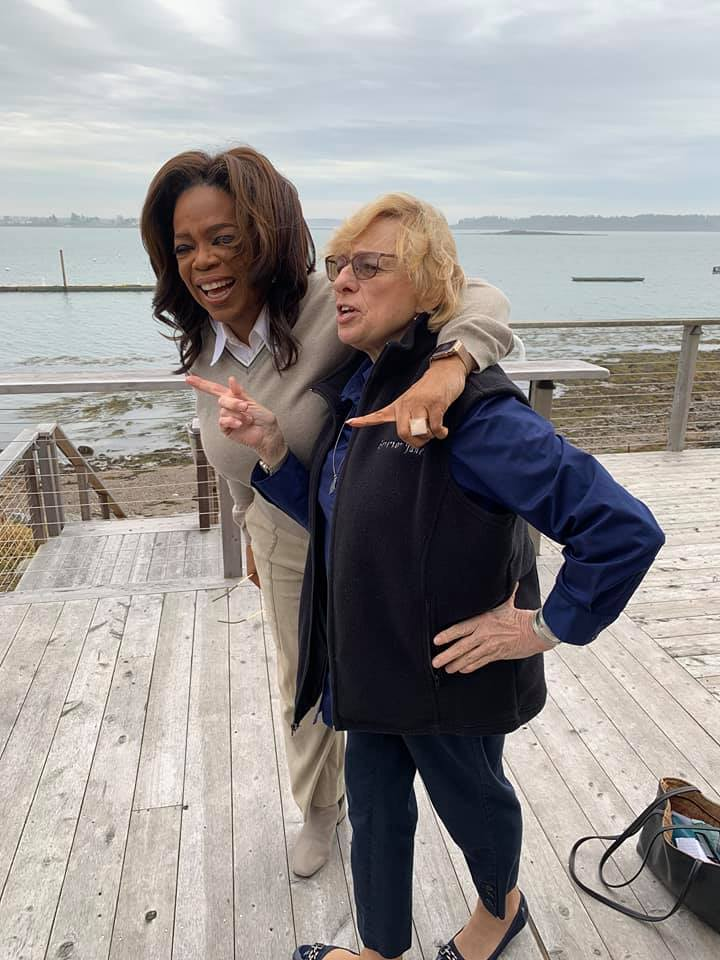 Oprah visits Harpswell to try a lobster roll and discuss 'Olive, Again' for TV show | Lewiston Sun Journal