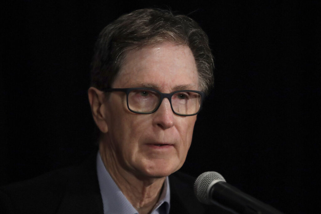 Boston Red Sox baseball team principal owner John Henry at a news conference at Fenway Park, Monday, Oct. 28, 2019, in Boston. (AP Photo/Elise Amendola)