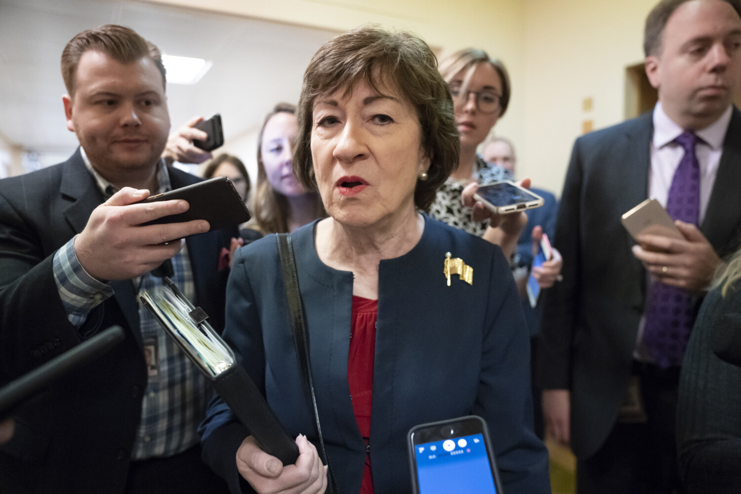 Collins' decisions on over 600 federal judges have helped shape the nation's courts - CentralMaine.com