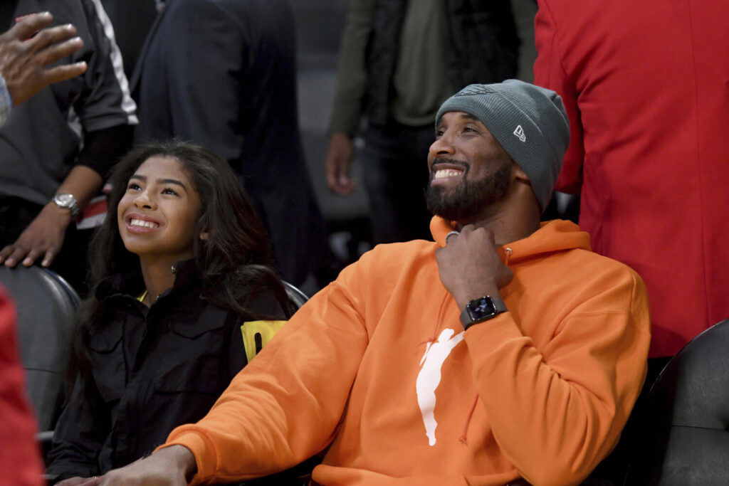 Kobe Bryant took pride in coaching his daughter Gianna Bryant and her teammates. Both died in a helicopter crash on Sunday.