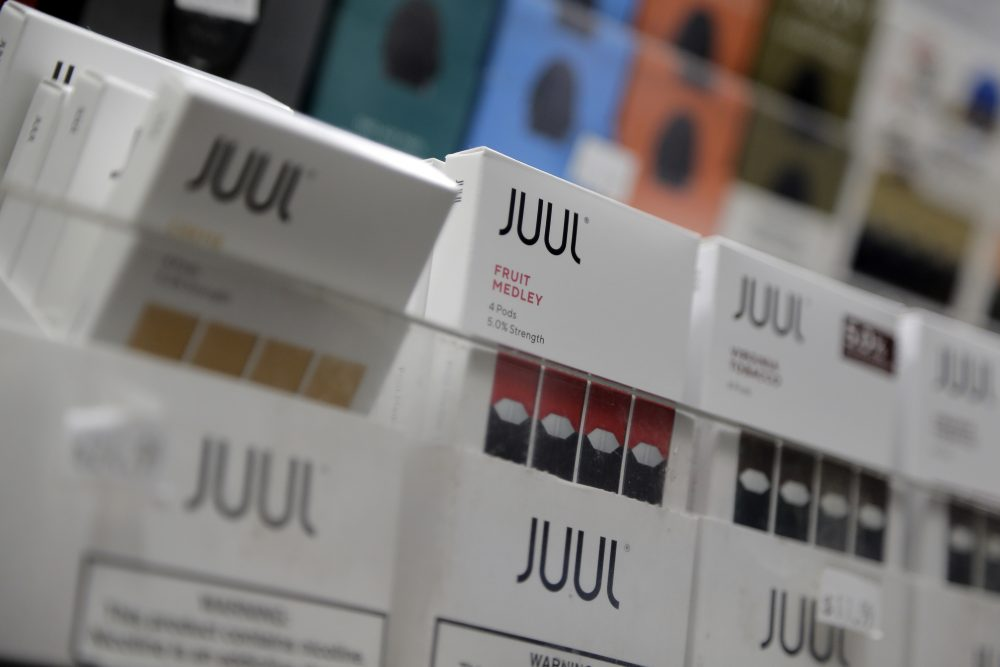 Many health groups, including the American Heart Association and the American Academy of Pediatrics, are adamantly opposed to almost all flavored e-cigarettes - both the cartridge-based variety sold by Juul and other big companies. Health groups want all Juul products off the market because they say the pods' nicotine levels are too high and the company can't be trusted based on its past behavior.