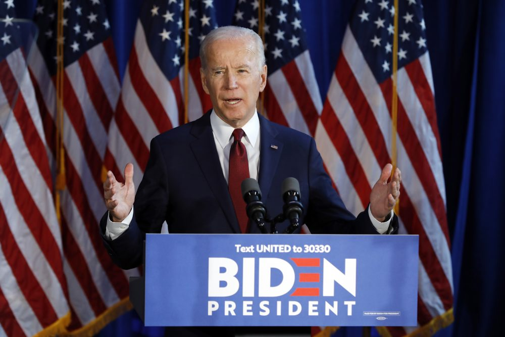Despite questions about his age, his past positions on forced school busing and his relationships with Southern segregationist senators, the poll shows that 48 percent of black Democrats favor Joe Biden as the Democratic nominee.