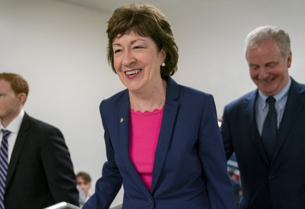 Collins ranks as least popular senator in new poll - CentralMaine.com