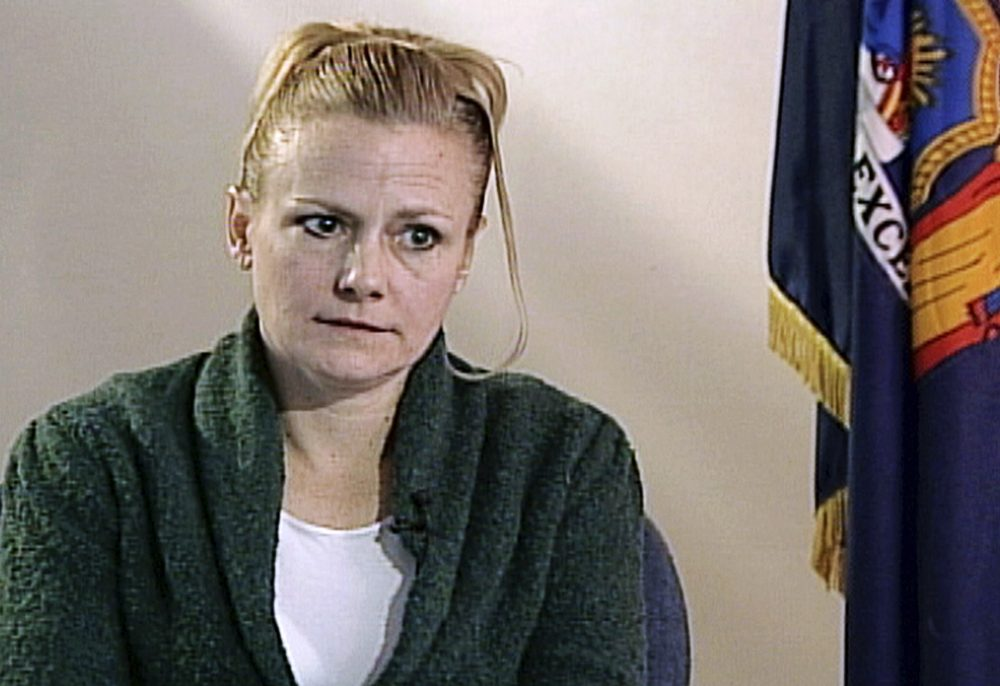Pamela Smart is shown during an interview at the corrections facility in Bedford Hills, N.Y., in 2010. Smart, who was denied a chance at freedom nearly three decades after she was sentenced to life in prison without parole for recruiting her teenage lover to kill her husband, will once again ask New Hampshire's governor and the Executive Council for a hearing on her case, her spokeswoman said Wednesday.
