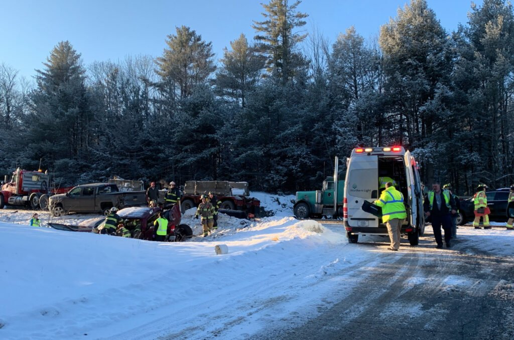 About 30 vehicles were involved in Tuesday's crash on Interstate 95 in Carmel.