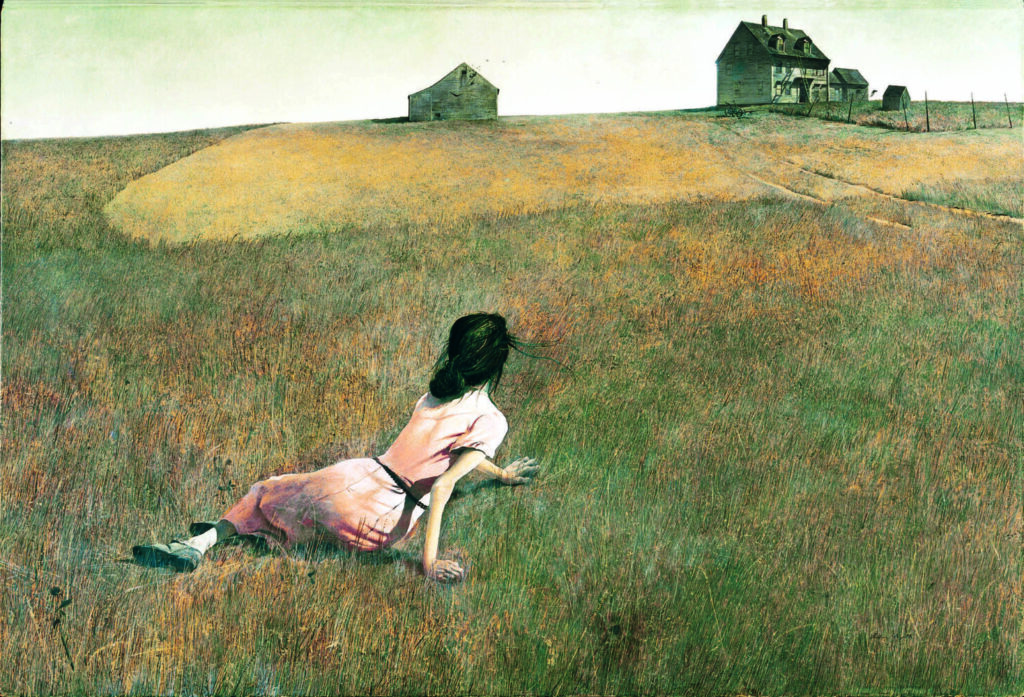 Andrew Wyeth's 'Christina's World' back on view at Museum of Modern Art