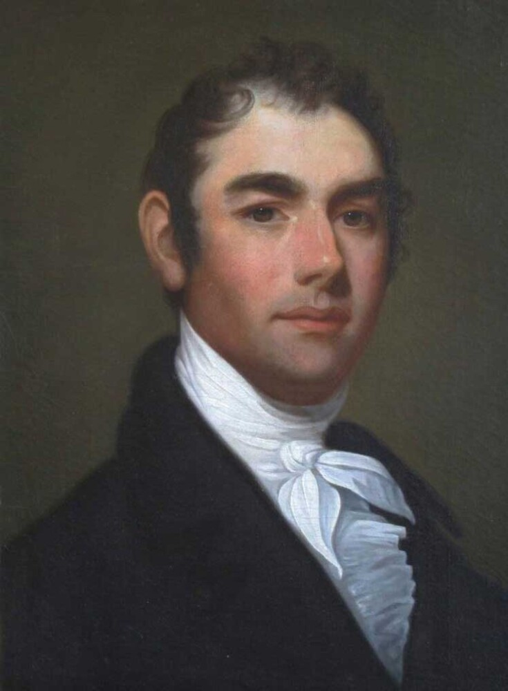 William King painted in 1806 by Gilbert Stuart.