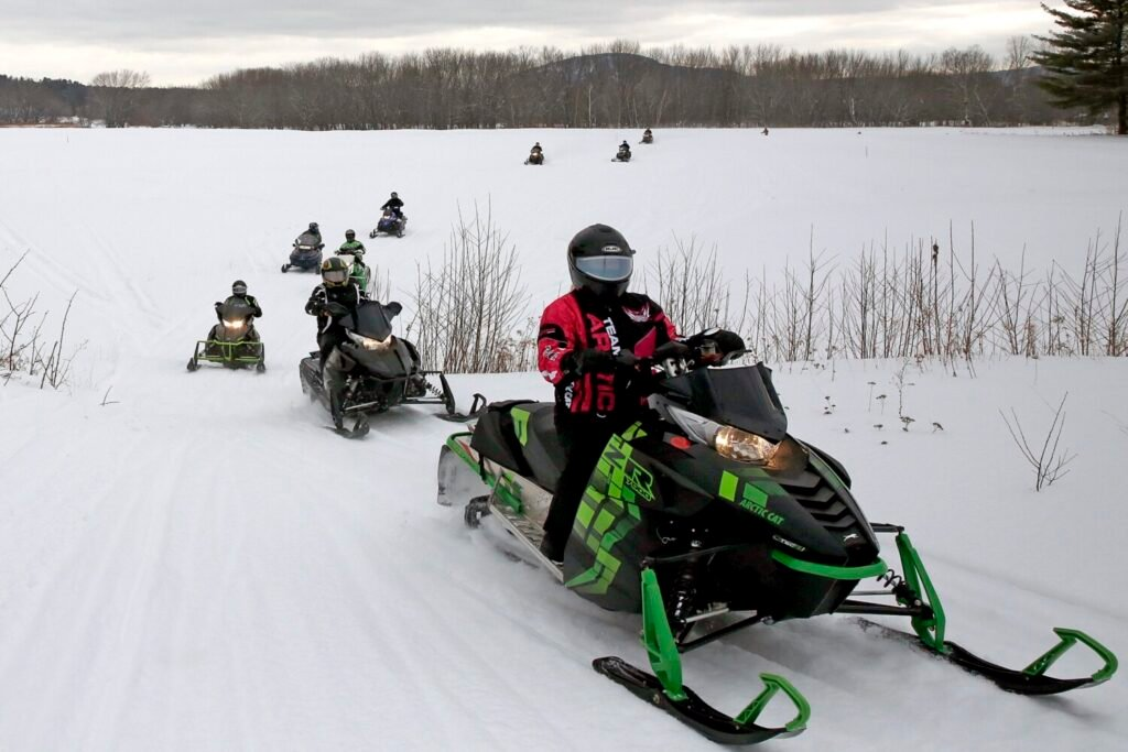 State calls for an end to snowmobile season...