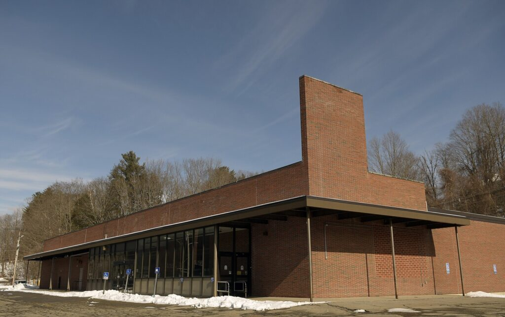 The former Hannaford on Willow Street in Augusta seen Sunday.  City councilors want to consider the site for a future police station.