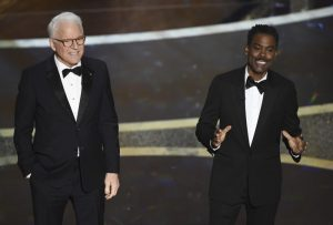 Steve Martin, Chris Rock