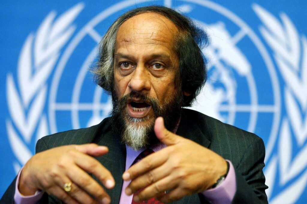 As IPCC chairman from 2002 to 2015, Dr. Rajendra Pachauri supervised the U.N. climate science body at a time when researchers' credibility was increasingly under attack.